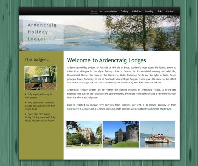 Ardencraig holiday lodges