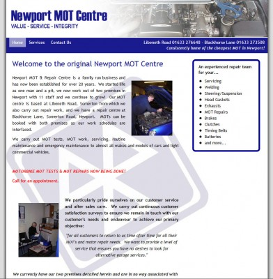 Newport MOT
